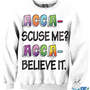 Acca scuse me? Acca believe it. | fresh-tops.com