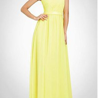 [103.18] Stunning Chiffon A-line One Shoulder  Bridesmaid Dress - Dressilyme.com