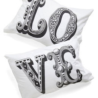 Five Amour Minutes Pillowcase Set | Mod Retro Vintage Decor Accessories | ModCloth.com