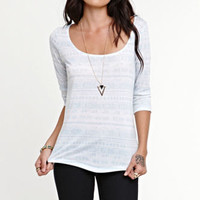 Nollie 3/4 Sleeve Cuotut Back Tee at PacSun.com