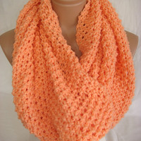 Salmon scarf  by Arzu&#x27;s Style