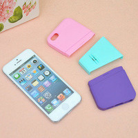 romefashion  cute transparent rhinestone for iphone4/4s/5