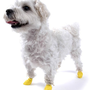 Pawz Yellow Water-Proof Dog Boot, XX-Small, Up to 1-1/2-Inch