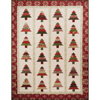 Quilt Table Runner Pattern Tree Lot by Cozy Quilt Designs