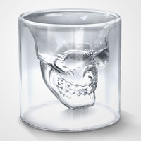 "BoredPanda Shop » ""Doomed"" Crystal Skull Shotglass"