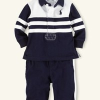 Pieced Rugby & Pant Set