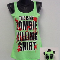 Printed Tank- Zombie