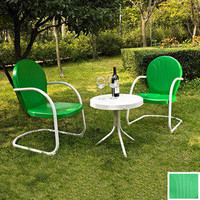 Shop Crosley Furniture 3-Piece Griffith Patio Conversation Set at Lowes.com