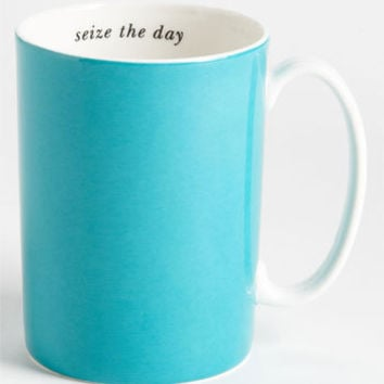 kate spade new york 'say the word - seize the day' porcelain mug | Nordstrom