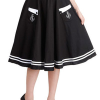 Aweigh We Go Skirt | Mod Retro Vintage Skirts | ModCloth.com