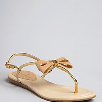 kate spade new york Thong Flat Sandals - Trendy | Bloomingdale's