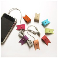 Roll Up Earphone Organizer