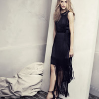 Fringed dress - from H&M