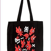Pirate Bunny Tote Bag
