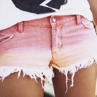 Sunset Ombre Shorts