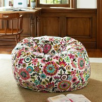 Bella Floral Beanbag