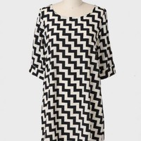 les jardins chevron shift dress at ShopRuche.com