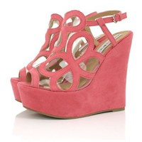Spy Love Buy VEX Wedge Heel Strappy Slingback Peep Toe Platform Sandal Shoes:Amazon:Shoes