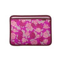 Pink Roses - Girly Macbook Sleeve at Zazzle.ca