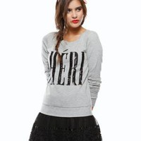 Sequin Chri Sweatshirt