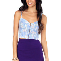 Field of Flowers Bustier $48