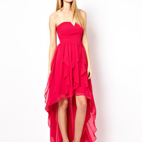 Coast Yessica Dress with High Low Hem