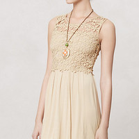 Honeyed Lattice Dress