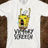 Victory Screech (tee) - Typography - Skreened T-shirts, Organic Shirts, Hoodies, Kids Tees, Baby One-Pieces and Tote Bags