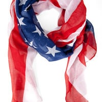 Patriotic Scarf $16