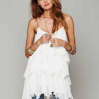 Free People Cascades Of Ruffles Tunic