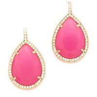 Juicy Couture Pave Teardrop Earrings | SHOPBOP