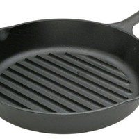 Lodge Logic 11-1/4-Inch Pre-Seasoned Grill Pan