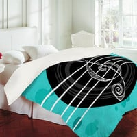 DENY Designs Home Accessories | Lisa Argyropoulos Solo Aquatic Blues Duvet Cover
