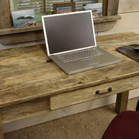 Driftwood Desk with Draw (50&quot; x 24&quot; x 29&quot;H)