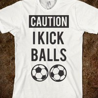 I Kick Balls - Pigskins &amp; Diamonds - Skreened T-shirts, Organic Shirts, Hoodies, Kids Tees, Baby One-Pieces and Tote Bags