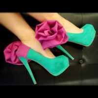 CHIQ | Pink Flower Heel Condom : Glamfoxx