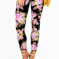Floral Leggings $21