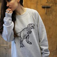 Dinosaur Sweatshirt from ART DISCO