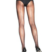 Sheer Backseam Pantyhose < Sexy Lingerie | Flirt Catalog
