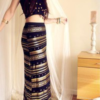 Aztec Maxi Skirt from Lockie & Lulu