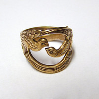 $45.99 Hunger Games Mocking Jay Ring by chinookhugs