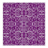 Silent Era, Violet Shower Curtain> Shower Curtains> Janet Antepara Designs