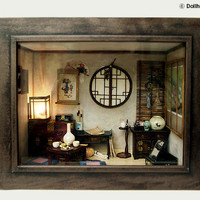 The orient traditional room No3 asian old things by DollhouseAra