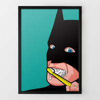 Dental Hygiene - Secret Life of Superheroes at Firebox.com
