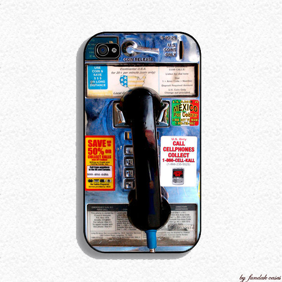 Iphone 4 Case  Public Telephone Design Case for by fundakcases