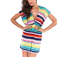 Summer Beach Stripes Dress