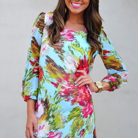 Paint Your Canvas Dress: Multi | Hope's