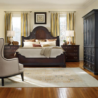 Estate Queen Size Panel Bed