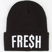 Neff Fresh Beanie Black One Size For Men 22162910001