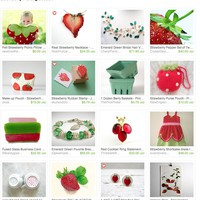 Strawberry Picking Season  by Angel on Etsy